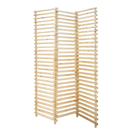 Elba wood folding screen-0