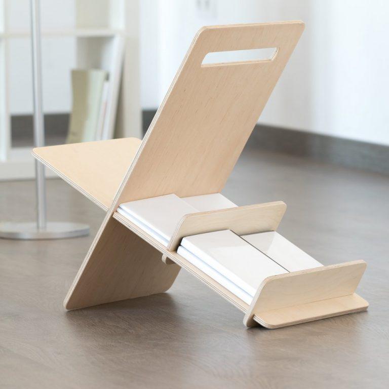 Revistero madera DEBOOK-1359