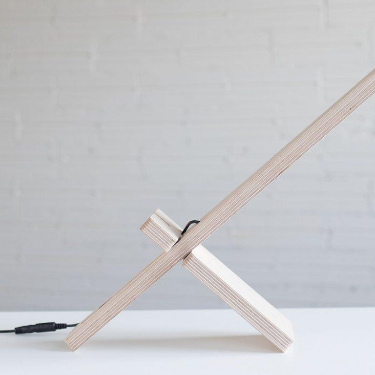 Lámpara mesa Delamp-1378