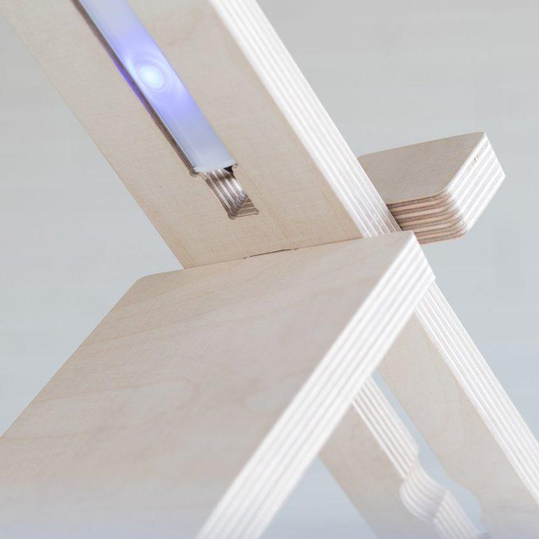Lámpara mesa Delamp-1377