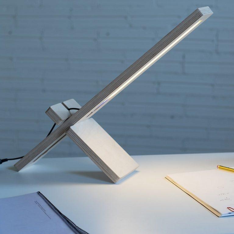 Lámpara mesa Delamp-1379