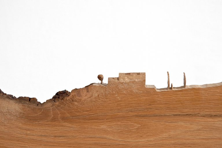 Escultura madera Mundo hermitaño-0