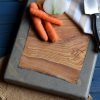Stone and wooden kitchen board-5985