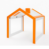 Maijon kids desk and toy house-0