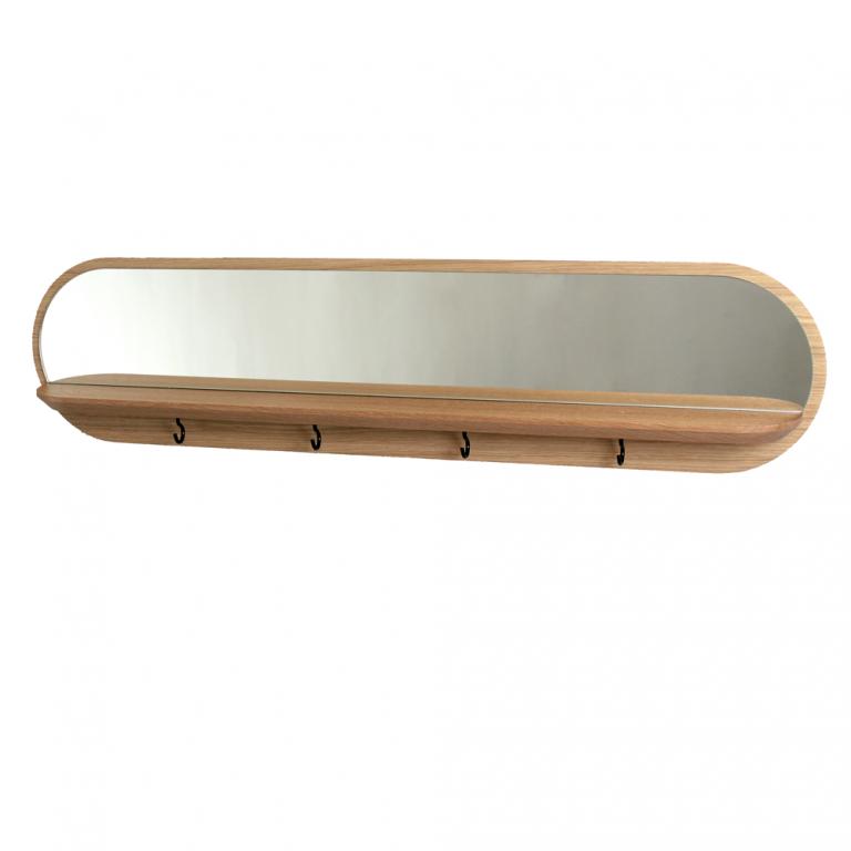 Balda, espejo y colgador Moonlight-8739