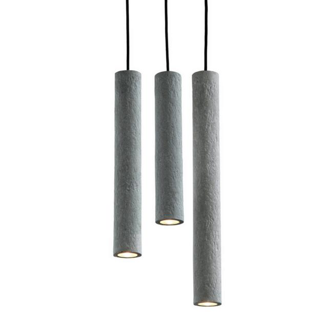 Lámpara colgante Tuba Trio-0