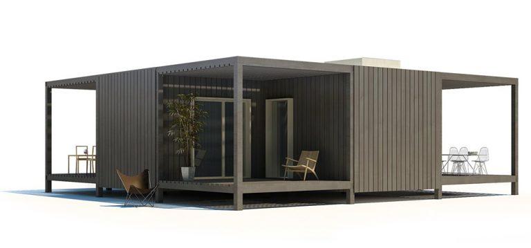 Vivienda modular Home Suite F-0