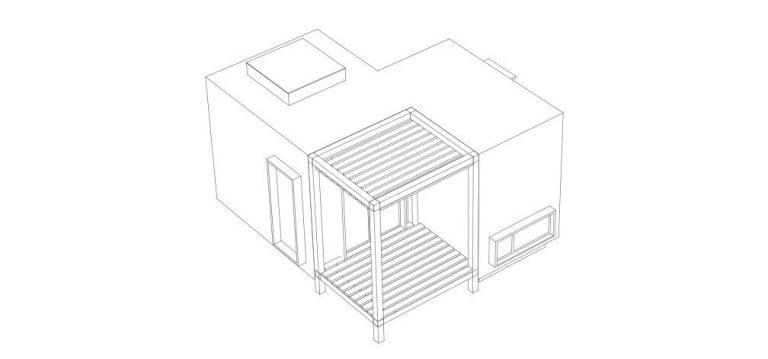 Vivienda modular Mini Suite B-13515