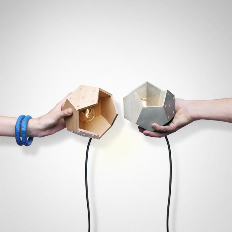 Lámpara mesa Basic Twelve trio-16731