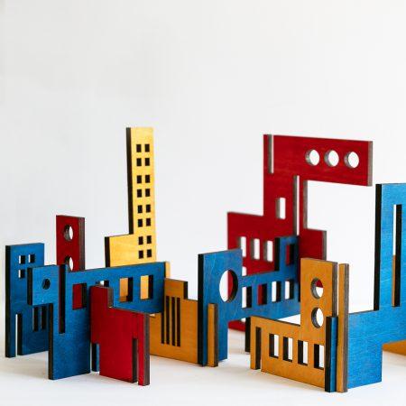 Bauhaus wooden structure-0