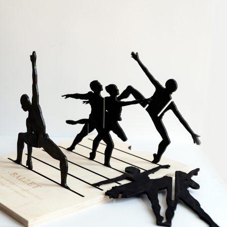 Ballet wooden structure-0
