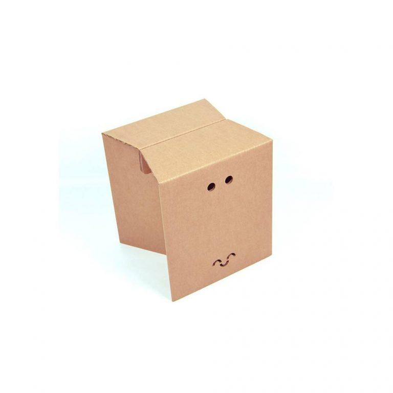 Set of cardboard stools-19908