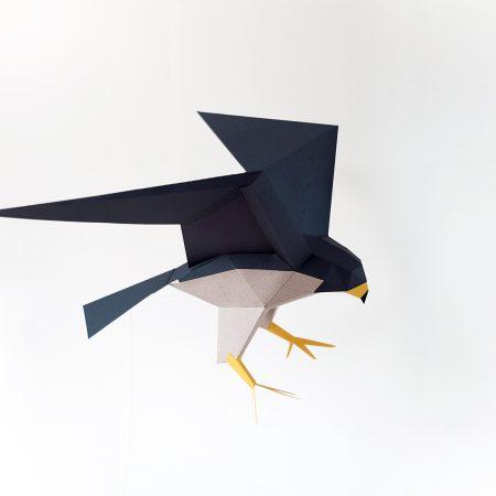 Falco peregrinus origami-0