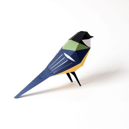 Parus major origami-0