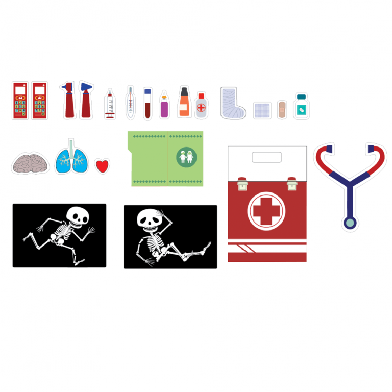 Hospital Cartón Juguete-21575