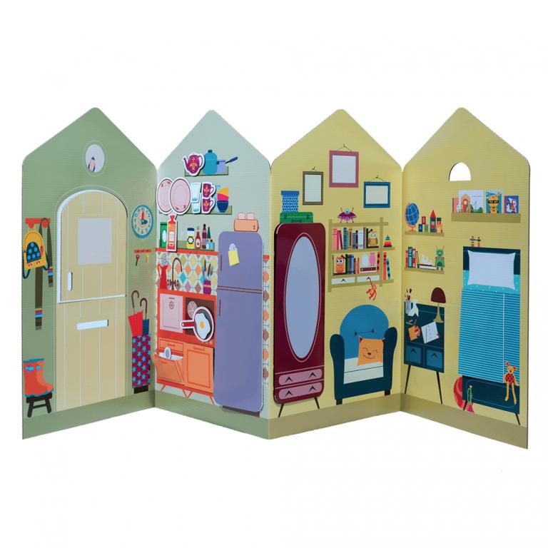 Casa Cartón Juguete-21599