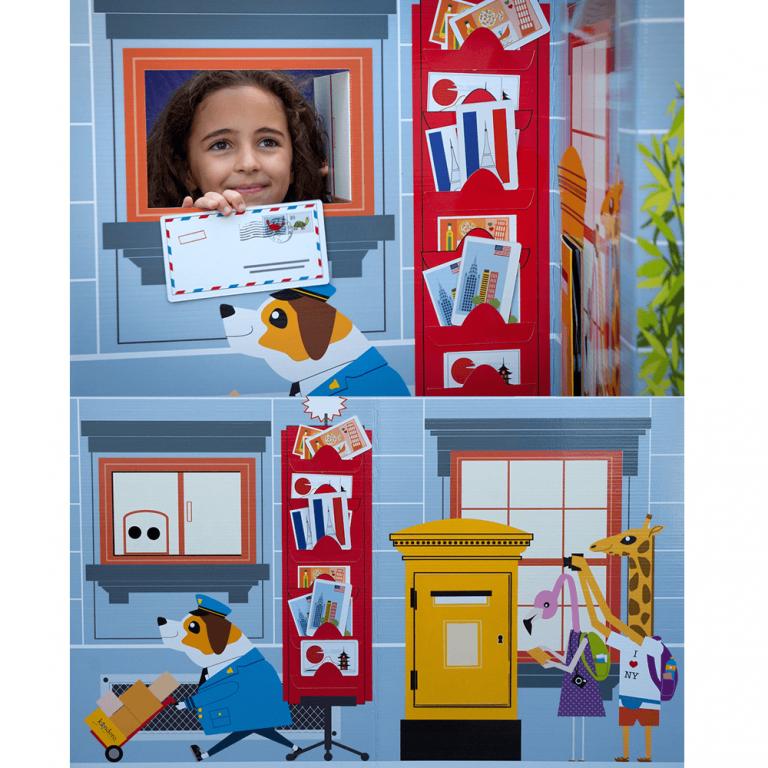 Oficina de Correos de Cartón Juguete-21562