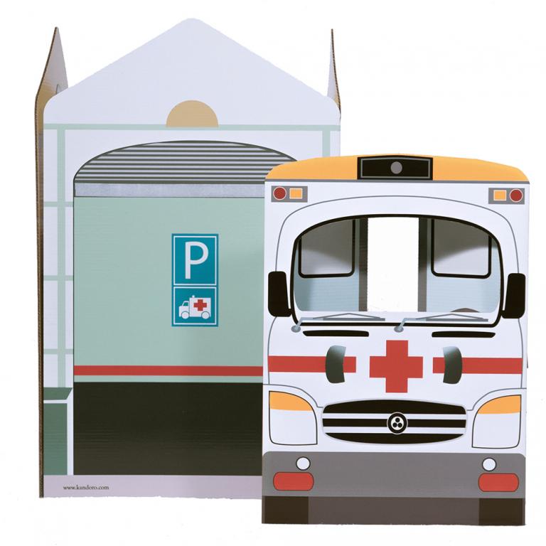 Hospital Cartón Juguete-21574