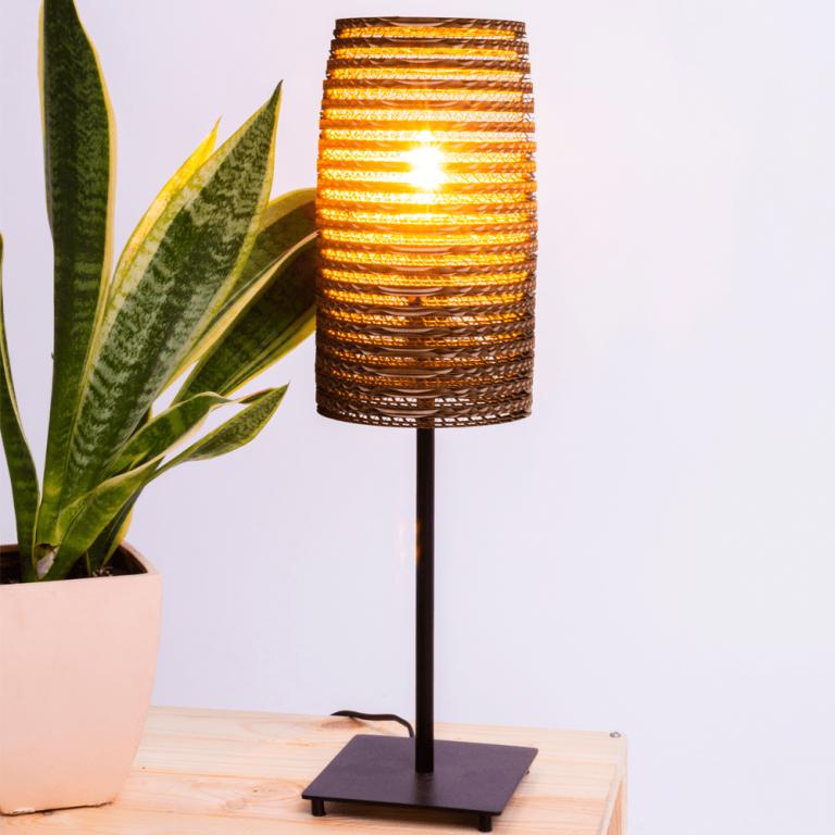 Lámpara mesa cartón Stem-21640