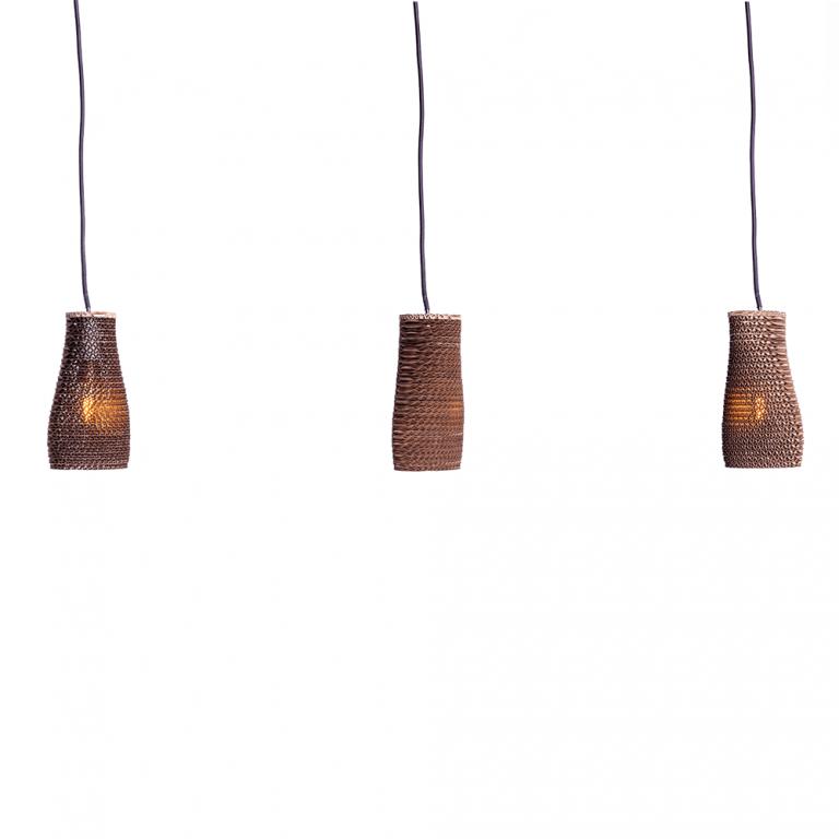 Lámpara Colgante cartón Seed-21629