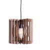 Line Pendant Cardboard Lamp-0