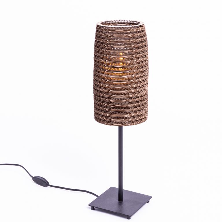 Lámpara mesa cartón Stem-21641