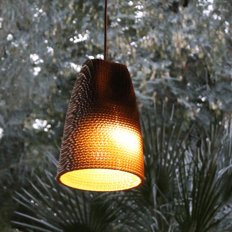 Lámpara Colgante de cartón Wave-21644