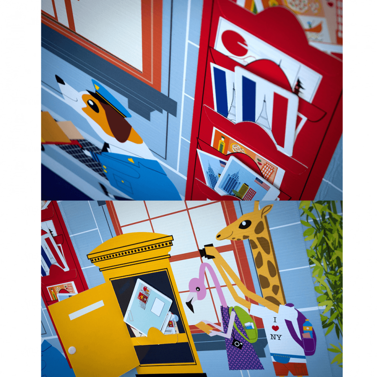 Oficina de Correos de Cartón Juguete-21563