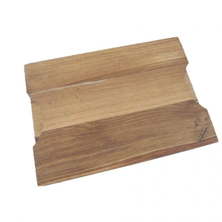 Tabla de cortar de roble rectangular-0
