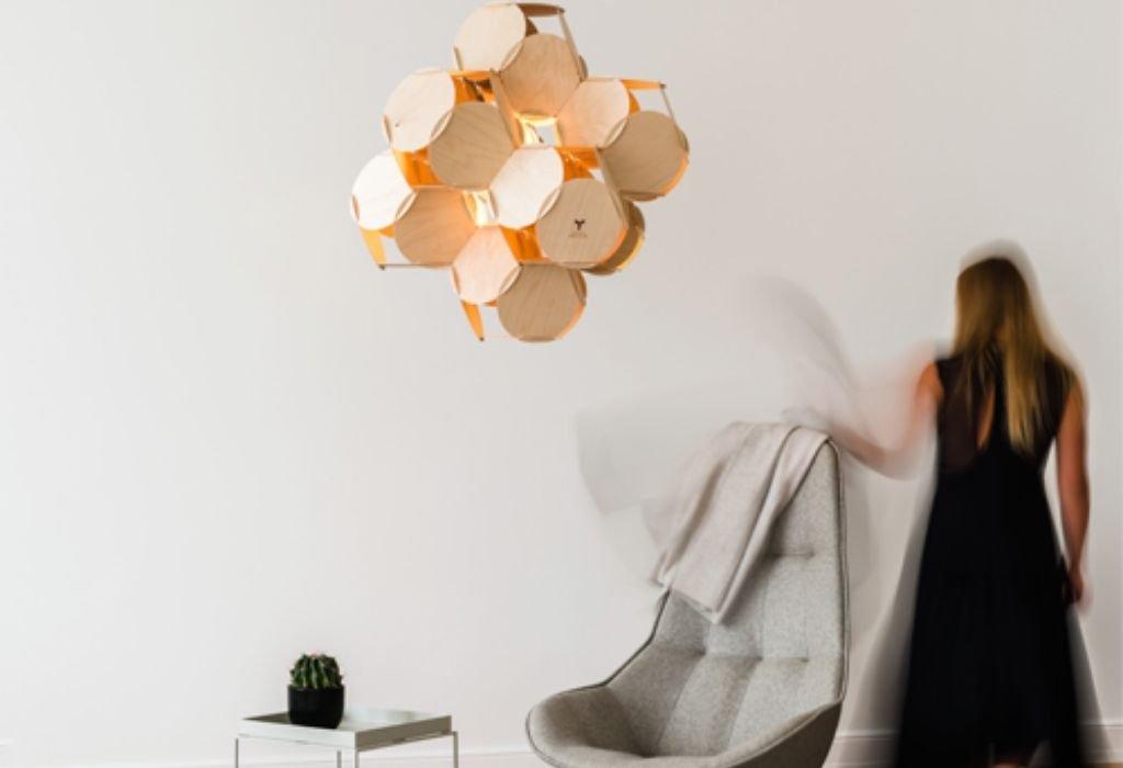 lampara-techo-sostenible-celulas