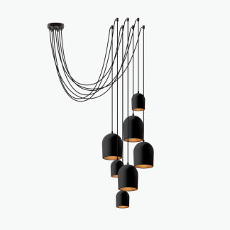 archy-cluster-7-black=sustainable-ceiling=lamp=ekohunters-ecodesign