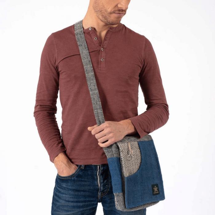 sustainable-rukum-natural-shoulder-bag-blue-ekohunters-bhangara-sustainable-backpacks