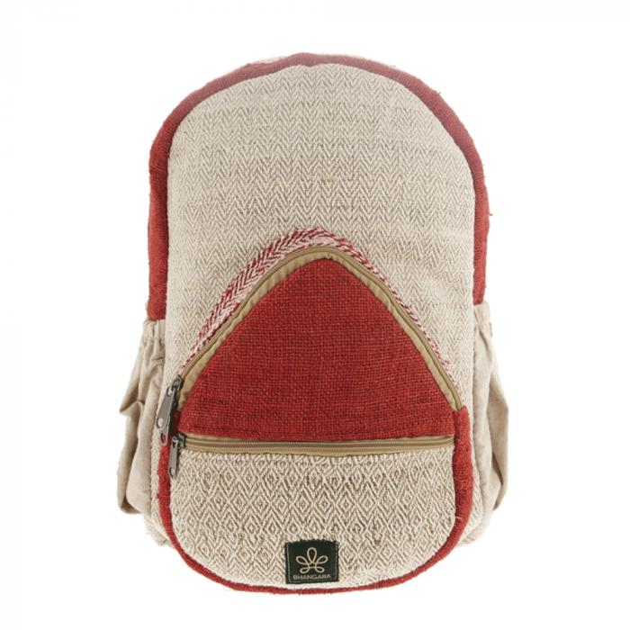 sustainable-jumla-red-backpack-ekohunters-bhangara-sustainable-fashion accessories
