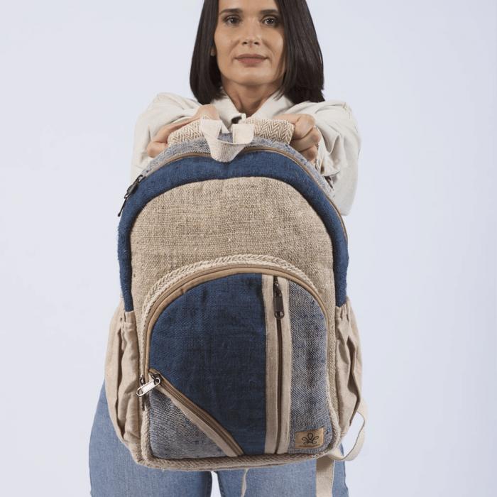 sustainable-dokha-blue-backpack-ekohunters-bhangara-sustainable-fashion accessories